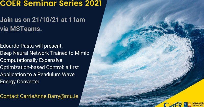 COER Seminar Series 2021
